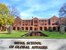 Toronto University The Munk School 2016 Royalty Free Stock Photos