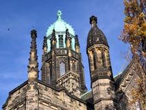 Toronto University the tower of Trinity College 2016 Royalty Free Stock Photos