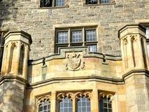 Toronto University Trinity College details of facade 2016 Stock Photography