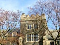 Toronto University Trinity College windows 2016 Stock Photo