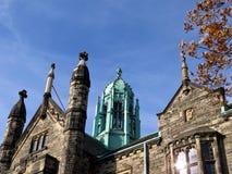 Toronto University the upper part of Trinity College 2016 Stock Image