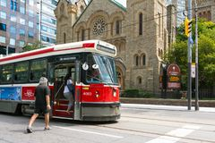 Toronto urban life Royalty Free Stock Photo