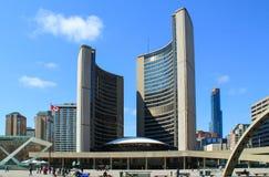 Toronto urząd miasta fotografia royalty free