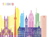 Toronto V2 skyline pop Stock Photography