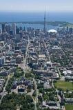 Toronto van de binnenstad stock afbeeldingen