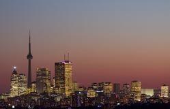 Toronto van de binnenstad Royalty-vrije Stock Afbeeldingen