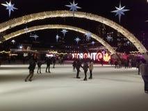 Toronto van de binnenstad stock afbeelding