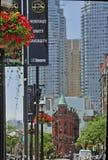 Toronto - vecchia città del centro fotografie stock libere da diritti