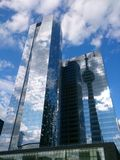 Toronto very beautiful. Cn tower wow Stock Image