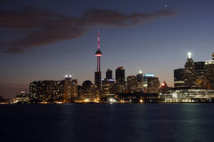 Toronto view at night Stock Photo