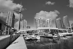 Toronto view from the Pier Royalty Free Stock Photography