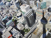 Toronto view from the tower Royalty Free Stock Image