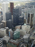 Toronto vom KN-Kontrollturm. Stockfotos