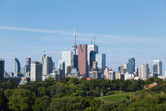 Toronto vom Osten Lizenzfreie Stockfotos
