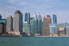 Toronto vom Osten Stockbild
