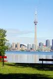 Toronto von der Insel Stockbilder