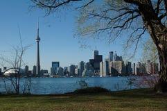 Toronto von der zentralen Insel Lizenzfreie Stockfotografie