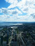 Toronto w górę wysokości Obrazy Stock