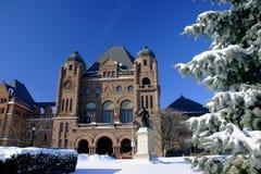Toronto w zimie zdjęcia stock