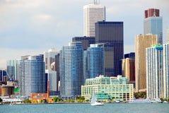 Toronto waterfront Stock Images