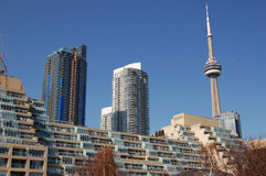 Toronto from waterfront stock photos