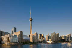 Toronto waterfront Stock Photography