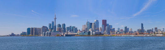 Toronto waterfront view Stock Photography