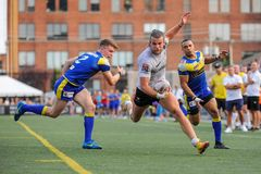 Toronto Wolfpack contre Doncaster RLFC Photographie stock