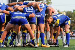 Toronto Wolfpack contro Doncaster RLFC Immagine Stock