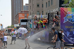 Toronto WorldPride Parade Stock Images