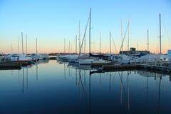 Toronto-Yacht-Klumpen Stockbilder