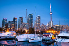 Toronto-Yachtclub Stockfotografie