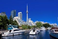 Toronto yachtklubba Fotografering för Bildbyråer