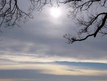 Toronto zimy Jeziorni nieba 2016 Obraz Stock
