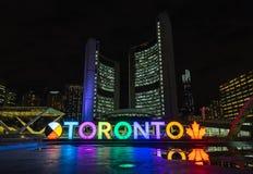 Toronto znak II obrazy stock
