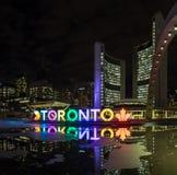 Toronto znak III obraz royalty free