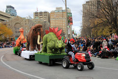 Toronto Zoo at Christmas Parade in Toronto Royalty Free Stock Photography