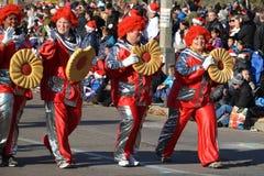 Torontos 108. Weihnachtsmann-Parade Stockfotos