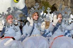 Torontos 108. Weihnachtsmann-Parade Lizenzfreie Stockfotos
