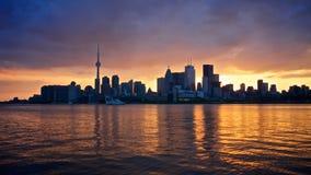 Torontos goldene Zeit   Stockbild