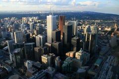 Torontos zentrales Geschäftsgebiet Lizenzfreie Stockfotografie