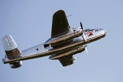 Toros B-25 Mitchell del vuelo en el PREJUICIO 2013 Imágenes de archivo libres de regalías