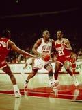 Toros de Michael Jordan Chicago Fotos de archivo libres de regalías