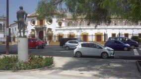 toros de plaza απόθεμα βίντεο