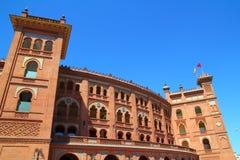 Toros de plaza de Las Ventas de bullring de Madrid Photos libres de droits