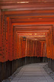 Toros en la capilla de Inari Fotos de archivo