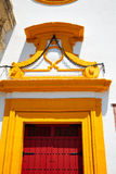 Toros Séville de plaza d'arène de Séville Maestranza Photo stock