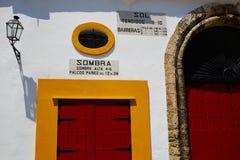 Toros Séville de plaza d'arène de Séville Maestranza Photographie stock