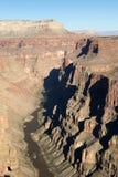Toroweap俯视,在大峡谷全国Pa内的观点 免版税库存照片