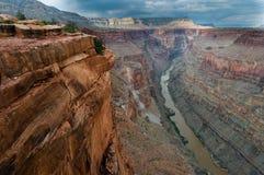 toroweap каньона грандиозное Стоковые Фото